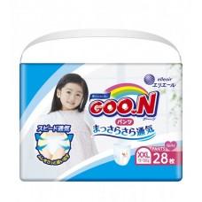 Трусики-подгузники GOO.N для девочек (XXL, 13-25 кг)