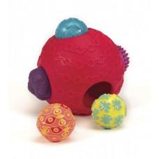 Развивающая игрушка - СУПЕРШАРИК (красный)