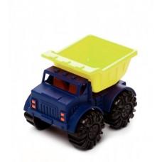 Игрушка для игры с песком - МИНИ-САМОСВАЛ (цвет лаймовый-океан)