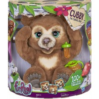 Интерактивный Медвежонок Кабби FurReal Cubby, The Curious Bear Interactive Plush Toy Hasbro