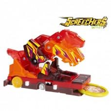 Машинка трансформер Screechers Wild LA.VA (LAVA) L1 Дикий скричер Лава Тираннозавр (EU 6842015)